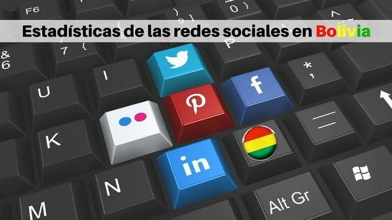 Estadísticas de uso de redes sociales en Bolivia