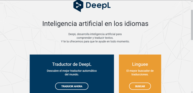 Traductor de idiomas con inteligencia artificial